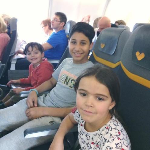 Kids on the plane